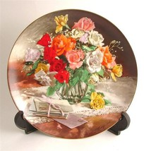 WS George Roses from Flowers of Your Garden series by Vieonne Morley CP115 - $40.84