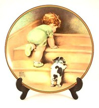 Hamilton Collection Bessie Pease Cutmann plate - On the Up and Up from - $45.45