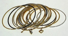 Ladies 14 bangle set fashion bracelet design 13453 - $18.60