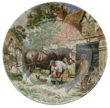 Wedgwood of Etruria Life on the Farm The Blacksmiths Forge John Chapman ... - $36.43