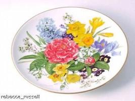 Fruhlingsmorgen Bands Blumentraume Collector Plate - $36.43