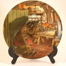Wedgwood Wind in the Willows collector plate by Eric Kincaid Breakfast a... - $40.45