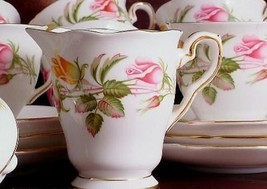 Royal Stafford Tea Rose Coffee Cup and Saucer - $29.11
