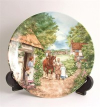 Wedgwood The Homecoming from The Village Green ... - $36.42