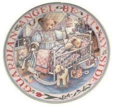 Royal Doulton Teddies Guardian Angel Linda Hill Griffith teddy plate CP2135 - $46.93