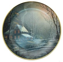Franklin Mint Winter Watch Ron Huff collector plate - CP1861 - $36.43