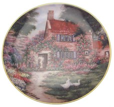 Franklin Mint Duck Haven Cottage Violet Schwenig plate CP1910 - $45.31