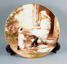 Wedgwood Yesterdays Child Begging for a Favour ... - $43.76