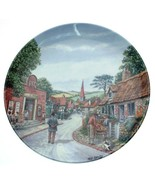 Royal Doulton Saturday Matinee Crinkley Bottom Mick Bensley plate - CP1851 - $32.34