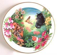 Royal Doulton Jungle book series Shere Khan and Bagheera by Mike Atkinso... - $65.73