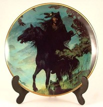 Franklin Mint Spirit of the Night collector plate Herman Adams CP739 - $35.87