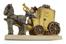 c1964 HUM226 The Mail is Here or Hummel Mail Coach figurine Arthur Moeller - $722.48