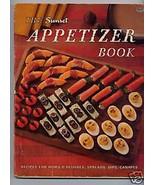 Vintage Sunset APPETIZER COOKBOOK 1965 - $10.00