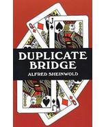 Duplicate Bridge by Alfred Sheinwold (1971, Paperback) Book - $8.99