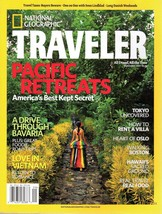 National Geographic TRAVELER Magazine September 2007 Pacific Retreats - $7.99