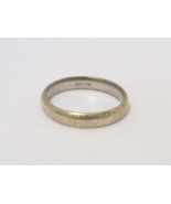 Vintage Sterling Silver Band Ring Size 10.5 - $14.00