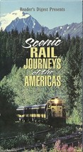Scenic Rail Journeys of the Americas - VHS Tape