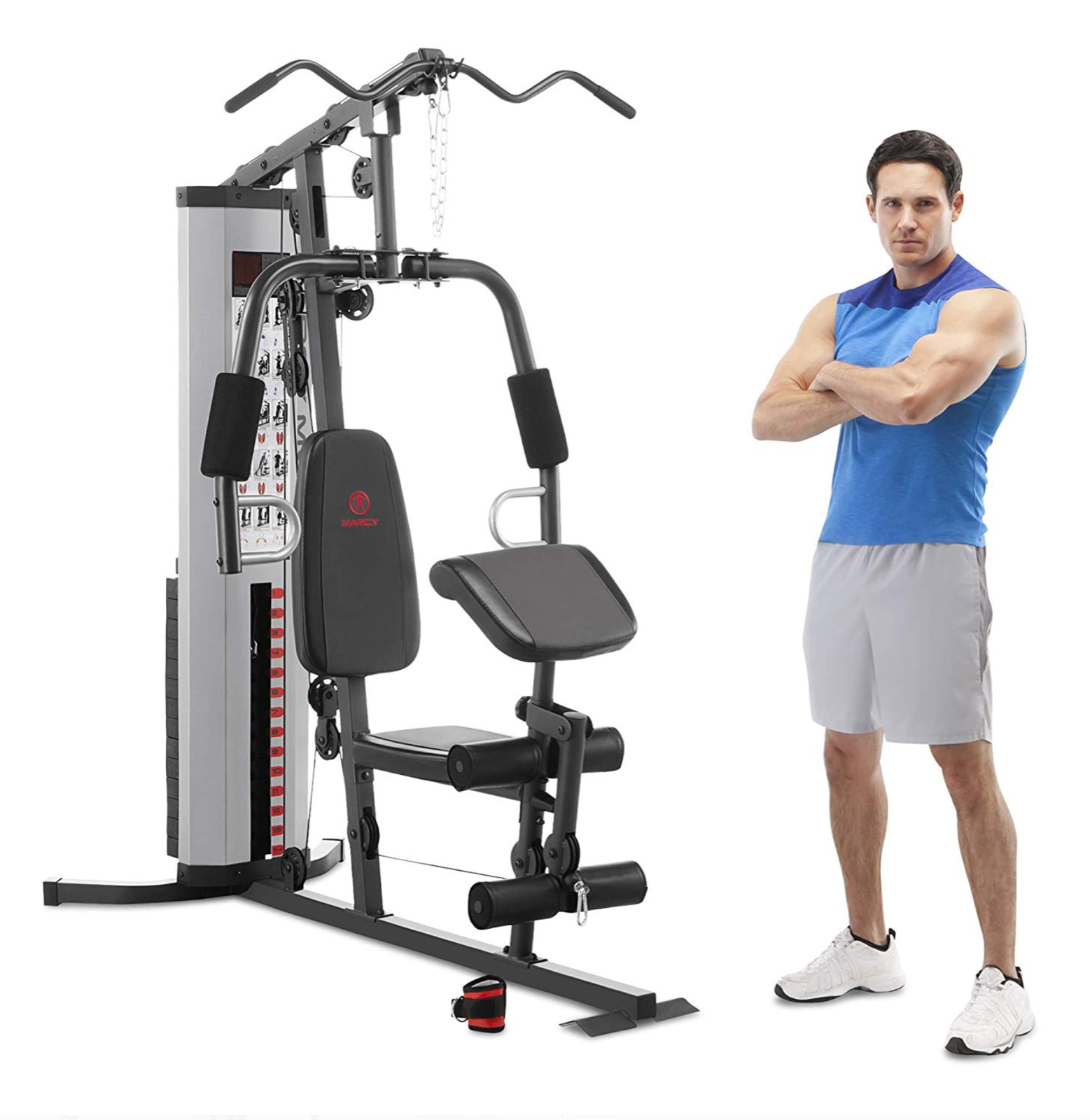Marcy Pro MWM-988 Gym System 150 lbs Adjustable Weight Stack - Ready to Ship