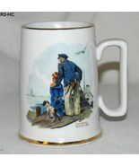 "Norman Rockwell ""Looking Out to Sea"" Porcelain Mug Cup - $12.99"