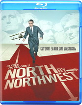 NORTH BY NORTHWEST BLU-RAY DVD CARY GRANT ALFRED HITCHCOCK 5.1 HD MUST OWN - $24.99