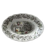 Johnson Brothers Merry Christmas Oval Relish Dish  Gravy Boat Underplate England - $49.49