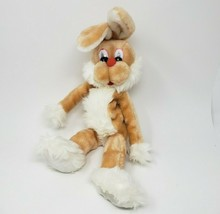 "18"" VINTAGE RUSS BERRIE FLIP BROWN BUNNY RABBIT STUFFED ANIMAL PLUSH TOY... - $55.17"