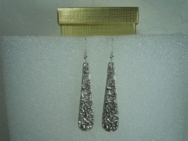 Kirk Stieff Repousse 1892 Earrings Sterling  - $98.95