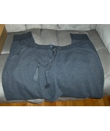 Beverly Drive Womens Gray Pants 24 - 26 With Silver Sparkle Comfort & Bl... - $17.99