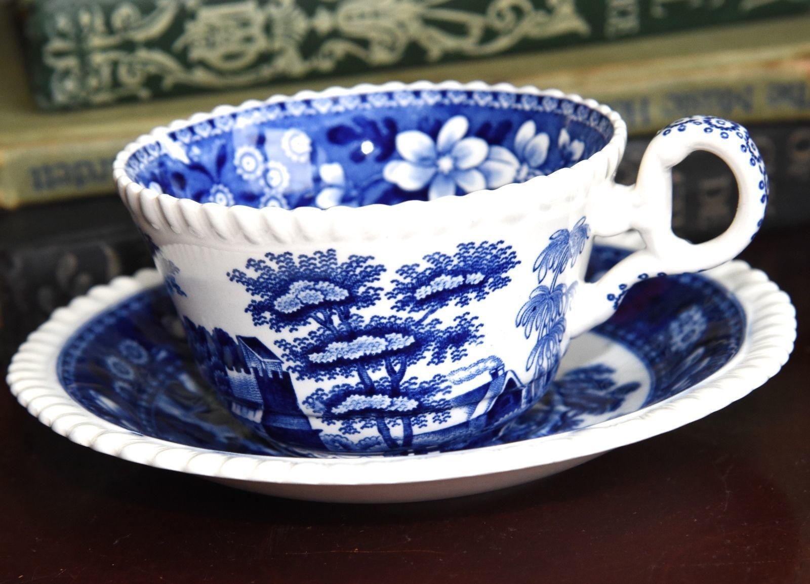 Tea Cup /& Saucer COPELAND SPODE China HALLMARK PATTERN FREE SHIPPING !