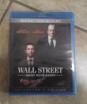 Wall Street 2-disc Special Edition Blu-ray + digital copy - $5.55