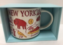 Starbucks New York Coffee Mug Been There Adirondacks Statue of Liberty - $37.39