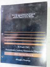 2003 Ford F-150 Bi-Fuel CNG Powertrain Emissions Service Manual OEM Factory - $2.68