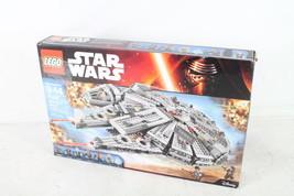 LEGO Star Wars Millennium Falcon 75105 Star Wars Toy INCOMPLETE SET OPEN... - $144.18