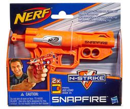 HASBRO* 3pc Set NERF Stealth Sized Blaster N-STRIKE SNAPFIRE Toy Dart Gu... - $9.89