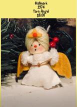 Hallmark Keepsake 1974 Yarn Angel - $8.00