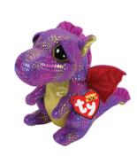 """Ty Beanie Boo Spectra Purple Dragon Michaels Exclusive 6"""" Plush Toy Mint... - $24.14"""