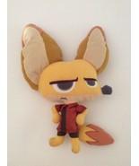 "DISNEY Zootopia brown NICK WILDE FOX PILLOW PAL 14"" plush - $9.49"