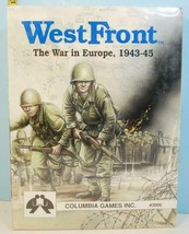 WestFront West Front The War in Europe Columbia Games 1992 SHRINK WRAP - $54.45