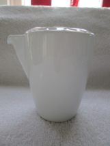 "Thomas by Rosenthal, Vario, white creamer, 4"", very good - $29.00"