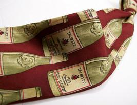 ROBERT TALBOTT  The WINE Bottles  MENS  100 SILK Necktie 9 2-15a - $15.99