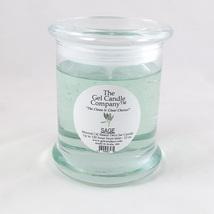 Sage Scented Gel Candle - 120 Hour Deco Jar - $15.47