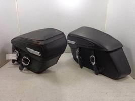 06 Harley Davidson Touring Road King Classic Leather Saddlebags - $329.95