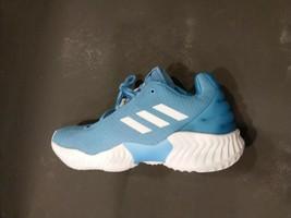 Men's Adidas Pro Bounce 2018 Low Basketball Shoes Light Blue B42251 Size 8 - £55.40 GBP