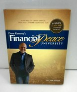 DAVE RAMSEY FINANCIAL PEACE UNIVERSITY HARDCOVER WORKBOOK - $14.22