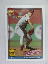 Scott Radinsky Chicago White Sox 1991 Topps Baseball Card 299 - $0.98