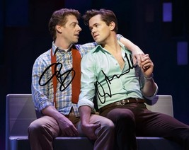 ** Falsettos Signed Photo 8X10 Rp Autographed Christian Borle & Andrew Rannells - $19.99