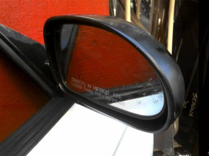 Primary image for Passenger Right Side View Mirror Power Fits 00-01 TIBURON 407248
