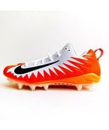 New Nike Alpha Menace Pro Football Cleats Shoes White Orange 922804-108 ... - $59.99