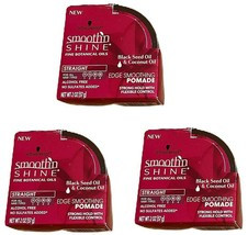 ( 3 ) Schwarzkopf Smooth 'N Shine Black Seed & Coconut Oil Edge Smoothing Pomade - $26.69
