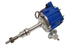 SBF Ford 260 289 302 302W V8 Coil Hei Distributor 50000 50K Volt w/ Blue Cap